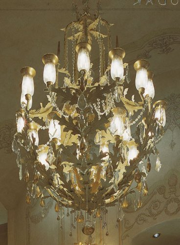 2nd Avenue Lighting 87628.48 French Baroque Chandelier