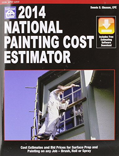 2014 National Painting Cost Estimator - Craftsman Book Co - 1572182954 - ISBN: 1572182954 - ISBN-13: 9781572182950