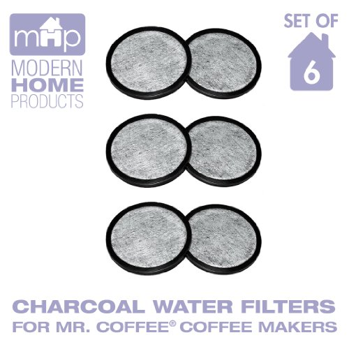 Water Filter Replacement Discs, Replaces Mr. Coffee Wff-3 Water Filter Discs- Set Of 6