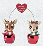 Jingle Buddies Rudolph and Clarice Our First Christmas Together Ornament