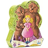 Djeco - Shaped Box Puzzle, Goldilocks and the Three Bears[002kr]