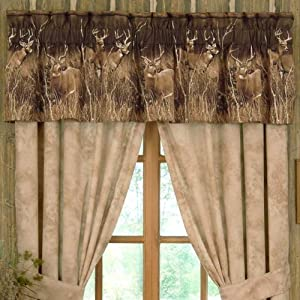 amazon com deer meadow curtains rod pocket drapes