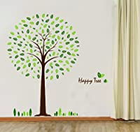 Happy Tree Wall Sticker Decal Ideal for Kids Room Baby Nursery Living Room from WallStickersUSA