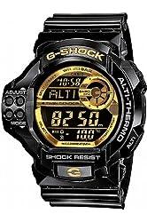 Casio G-Shock Digital Bolack Resin Mens Watch GDF100GB-1E