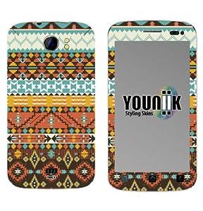 YOUNiiK Styling Skin Designfolie / Handy Skin für Mobistel Cynus T2 - Navajo (Lieferumfang = Skin für Vorder- und Rückseite)