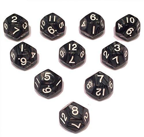 skull d20 dice sets