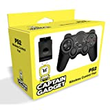 Captain Gadget Wireless Controller - Black (PS2)