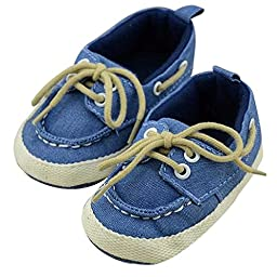 Voberry® Baby Toddler Walking Canvas Shoes for Autumn Outdoor (3-6 months)