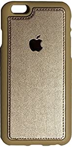 SmartLike FULL LEATHER Back Cover for iPHONE 4S GOLD