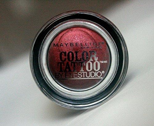 Maybelline Eyestudio Color Tattoo 24Hr Cream Eye Shadow In Pomegranate Punk 14 Oz. front-521288