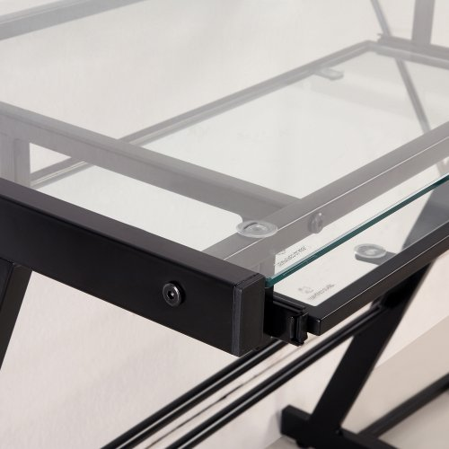Walker Edison 3 Piece Contemporary Desk, Multi  (587aea41661f1516e135b8f9492054ca)   PCPartPicker