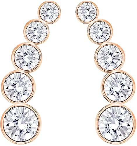 Swarovski donna-Orecchini cristallo bianco Harley 1,5 cm - 5193623
