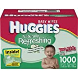 Huggies One & Done Baby Wipes Refill Refreshing 1296 Ct