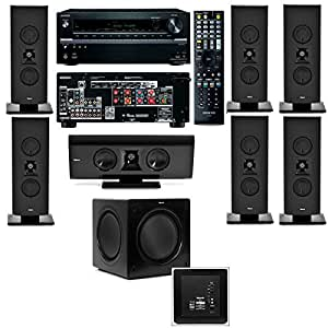 Klipsch Gallery G-16 7.1 Home Theater System-SW-112-Onkyo