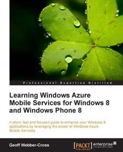Geoff Webber-Cross - Learning Windows Azure Mobile Services for Windows 8 and Windows Phone 8
