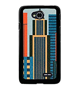 High Rise Buildings 2D Hard Polycarbonate Designer Back Case Cover for LG L70