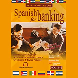 Spanish for Banking Audiobook