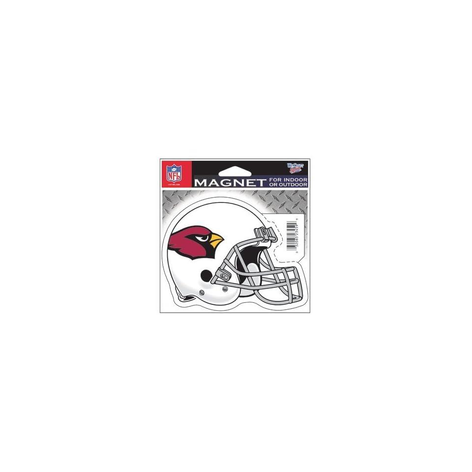 NFL Arizona Cardinals Set of 2 Indoor / Outdoor Magnets