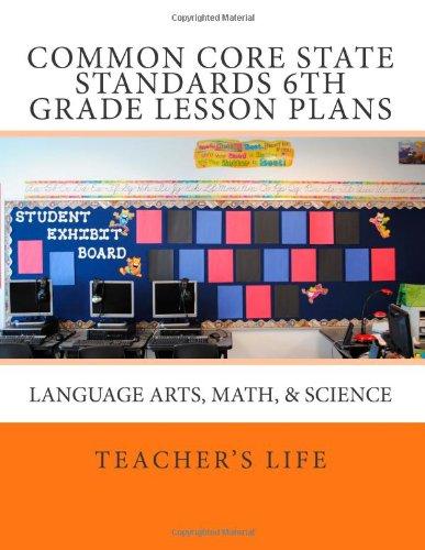 6th grade language arts lesson plan pdf