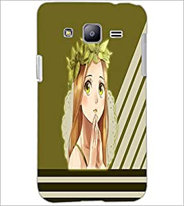 PrintDhaba Praying girl D-2380 Back Case Cover for SAMSUNG GALAXY J2 (Multi-Coloured)