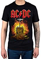 Official AC/DC TNT Dynamite T-Shirt Rock Band Rock And Roll Indie