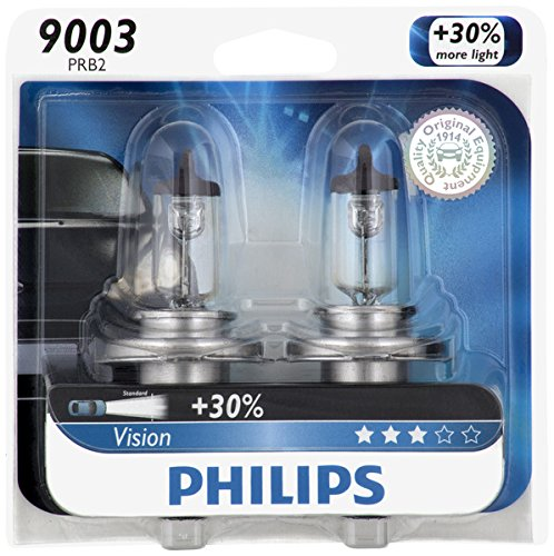 Philips 9003 Vision Upgrade Headlight Bulb, 2 Pack (Honda Civic 2000 Lx Glasses Seal compare prices)