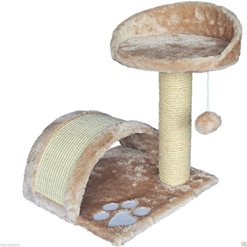 Produktabbildung von KLEINE Kratzbaum, Katzenkratzbaum Katzenbaum Sisal Kletterbaum Katzen KD102-A