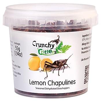 Lemon Chapulines - 55 grams