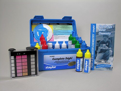Taylor Technologies K-2005 Test Kit Complete High
