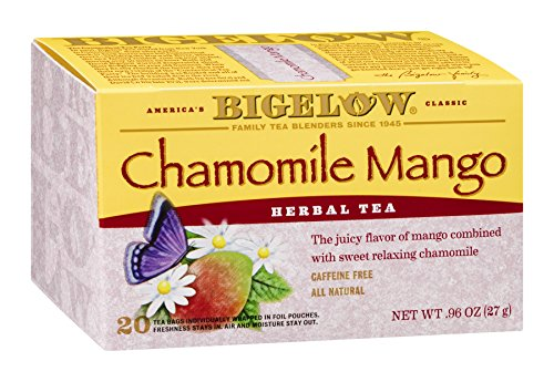 Bigelow Herbal Tea Chamomile Mango 20 Bag (Pack Of 18)