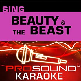 Beauty and the Beast (Movie Version) (Karaoke Instrumental Track) [In the Style of Angela Lansbury (Beauty and the Beast)]