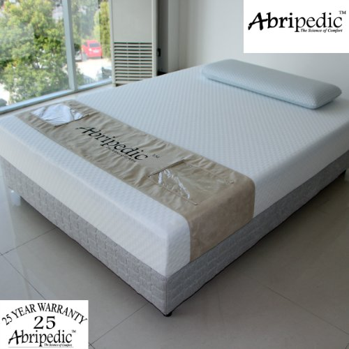 Abripedic By Royal'S California-King Size Mattress 8-Inches Memory Foam Mattress 100% Certipur-Us Foam - 25-Year Warranty