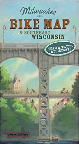 Bike Milwaukee Map SE Wisconsin Bike Map nd