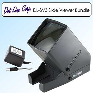 Dot Line Medalight DL-SV3 Slide Viewer Bundle With Power Adapter