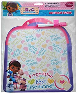 Doc McStuffins Dry Erase Board with Marker