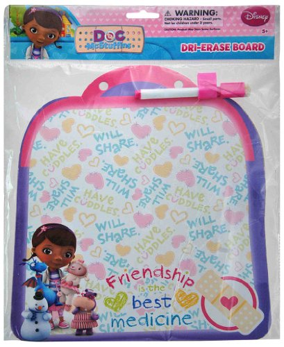 Doc McStuffins Dry Erase Board with Marker - 1