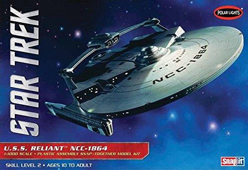 POLAR LIGHTS POL906/12 1/1000 Star Trek USS Reliant (Polar Lights Model compare prices)