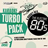 "Zoom Karaoke CD+G Turbo Pack - 1980s/Eighties - 10 Discs [Card Wallets]von ""Zoom Karaoke"""