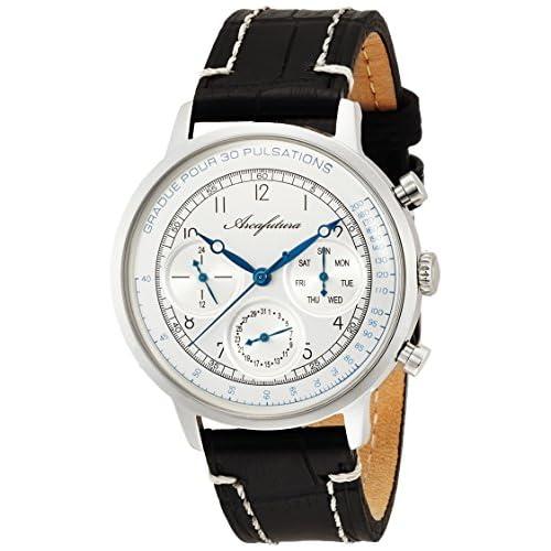 [アルカフトゥーラ]ARCA FUTURA 腕時計 クォーツ 700WHBK メンズ