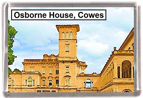 Kühlschrankmagnet Cowes Osborne Haus Geschenk Tourist Souvenir