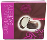 Chocmod Dark Chocolate Coated Dome Marshmallows 200 G (Pack of 3)