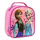 Disney Store Frozen Princess Elsa and Anna Lunch Tote/Box/Bag