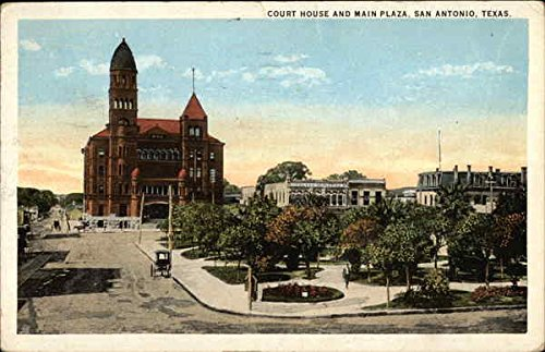 Bexar County Court House and Main Plaza in San Antonio, Texas