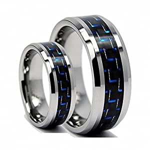 Image unavailable image not available for color sorry this for Tungsten carbide wedding ring sets