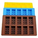 Lego Brick Pattern Silicone Ice Cube Jelly Tray Maker