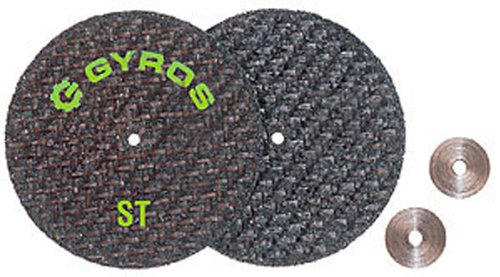 Gyros ST 11-42002 Fiberglass Reinforced Cut Off Wheel, 2-Inch Diameter, 2-Pack (2 Inch Disk Washer compare prices)