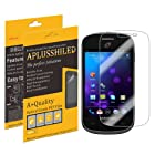 Aplusshield 2014 Premium Ultra Clear Anti Scratch / Bubble Screen Protector Film for Samsung Galaxy Centura S738 [6-pack] + Lifetime Replacements Warranty (At&t, Verizon, Sprint, T-mobile, All Carriers)- Retail Packaging
