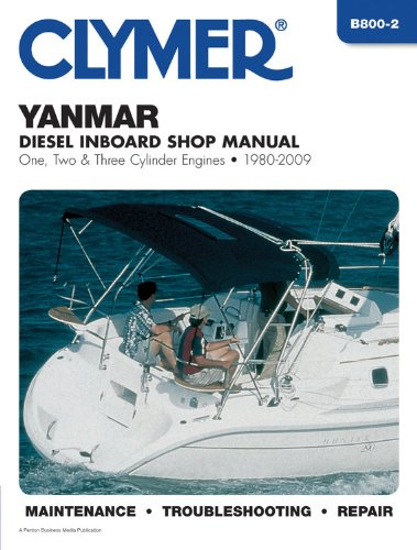 Yanmar Diesel Inboard Engines 1980-2009 (Clymer Motorcycle Repair) купить
