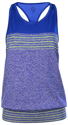 Nike Dri- Fit Knit Loose Womens Training Tank Top-Game Royal-Small