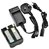 DSTE® D-Li50 Rechargeable Li-ion Battery + Charger DC11U for Pentax K10D, K20D and Minalta NP-400